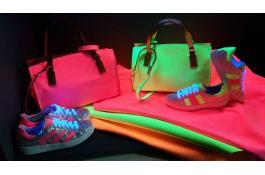 Pellami effetto fluorescente Fluo Velour