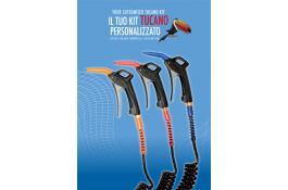Kit personalizzato pistole di soffiaggio Airset® Tucano