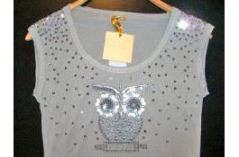 Magliette da donna personalizzate con Strass, Borchie o Swarovski