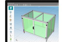 CAD configurator for industrial machine components Robomec Toolbox