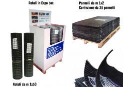 Rete di rinforzo in fibra di vetro Glasstex 40-40