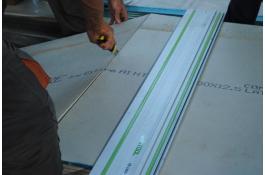 Lastra isolante in cemento fibrorinforzato Aquafire®