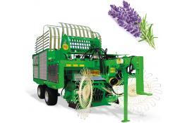 Raccoglitrice erbe aromatiche, medicinali e ortaggi in foglia