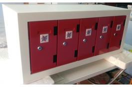 Sistemi orizzontali: Charge box allestimento orizzontale