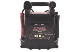 Avviatori di emergenza con tecnologia a condensatori BatteryLess e Hybrid