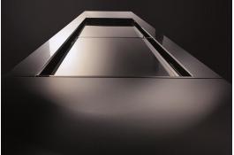Banchi vetrina in acciaio inox per pasticceria