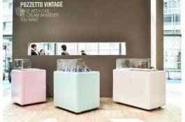 Banco gelateria Vintage
