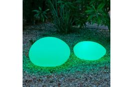 Luminous lamp in the shape of a stone Ayers