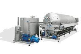 Filtro rotativo sottovuoto per enologia C26 Mod. 2 - 3 - 4
