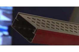 Modular stainless steel raceway for terraces Apollo