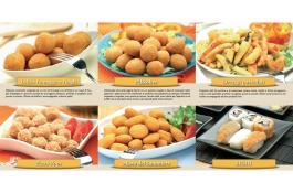 Snack surgelati pronti da cuocere Gusto Forno e Gusto Fritto