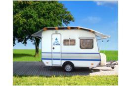 Copertura gonfiabile per caravan e camper