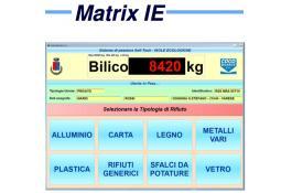 Программное обеспечение для взвешивания экологически безопасных островов Matrix IE
