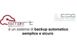 Servizio backup gestionale rifiuti Sm@RT Security