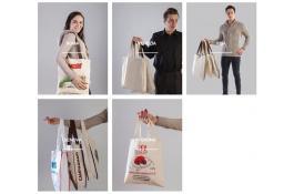 Shopper personalizzate in tessuto per negozi