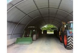 Hangar per ricovero attrezzi agricoli