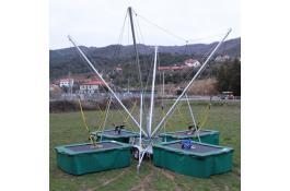 Salto trampolino 4 posti