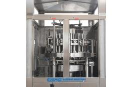 Volumetric piston dosing machine