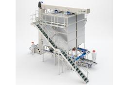Impianto di stoccaggio pasta corta