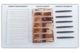 Stampo cioccolatini a forma di penna