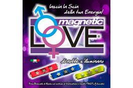 Bracciali fluorescenti con chiusura magnetica MAGNETIC LOVE