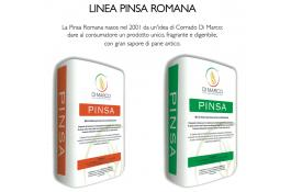 Flour mixtures for Pinsa Romana