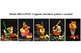 Coppette e bicchieri ecologici per gelato Mondo BIO-LINE®