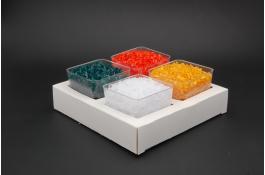 Поднос с одноразовыми стаканчиками для мороженого Linea Cubo