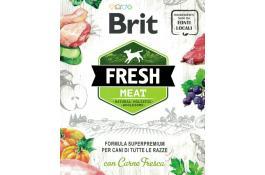 Натуральные корма для собак со свежим мясом Brit Fresh Meat