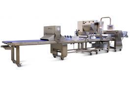 Tavolo da lavoro per pasticceria industriale e artigianale