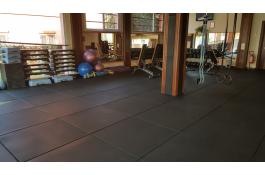 Pavimentazione in piastre per palestre, Box CrossFit Floorsport Flat