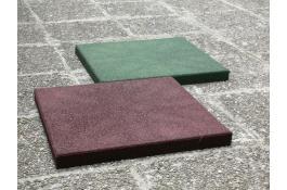 Pavimentazioni Ecoplay piastre antitrauma in gomma riciclata