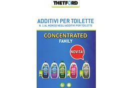Additivi per toilette Thetford: prodotti concentrati per WC camper