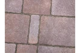 Polymer sand joint for self-locking concrete paver