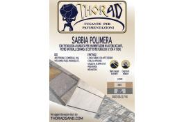 Polymer sand joint for external paver