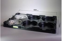 Vassoi termoformati di movimentazione