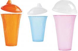 Bicchieri in PP trasparente per bibite fredde ICE GLASS