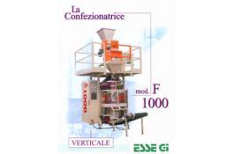 Vertical packaging machine for packaging