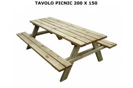 Picnic table 200x150