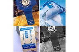 Etichette per packaging prodotti alimentari