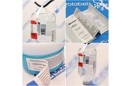 Etichette per prodotti farmaceutici