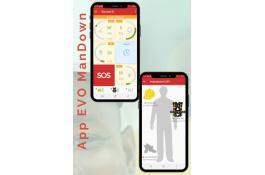 App per sicurezza personale sul lavoro Evo ManDown 4.0