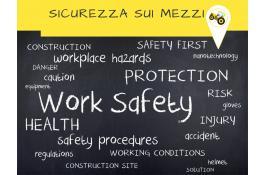 Sistema di sicurezza sui mezzi d'opera