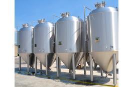 Impianti inox per produzione birra e industria alimentare