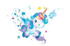 Semilavorato per gelato dal gusto fruttato Unicorno