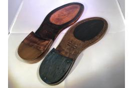 Suole in cuoio per calzature uomo