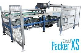 Packaging equipment for tiles and strips/slabs Packer XS