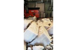 Recupero blocchi di materiali plastici