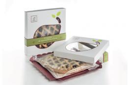 Домашний безглютеновый виноградный пирог Crostata d'Uva