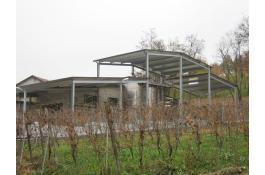 Produzione tettoie su misura